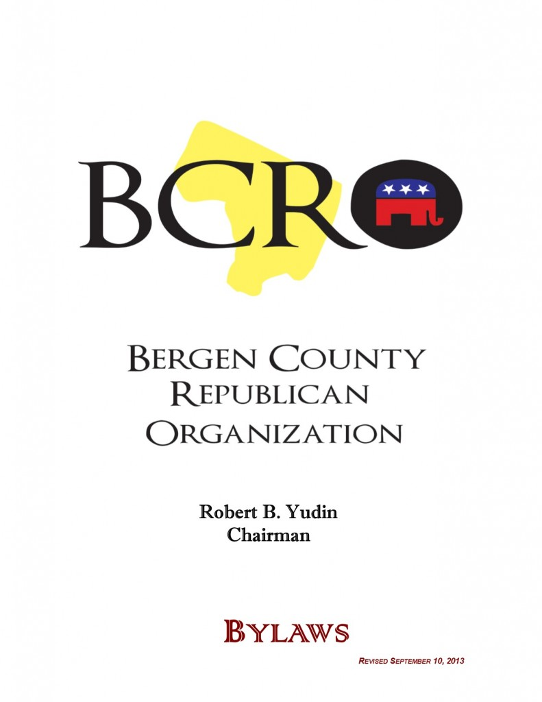 BCRO By Laws, revised September 10, 2013